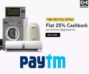 Paytm Appliances Offer
