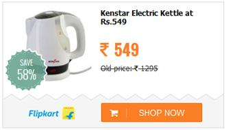 Kenstar KKB10C3P-DBH Electric Kettle