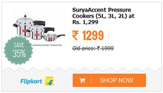 Surya Accent Pressure Cookers