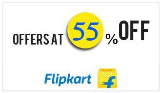 55% Off Flipkart