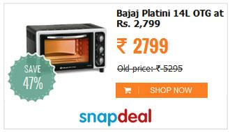 Bajaj Platini 14L OTG