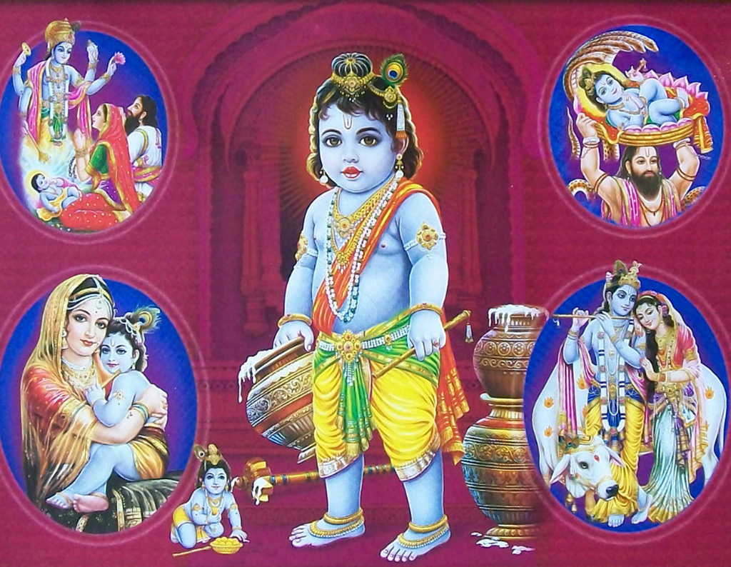 lord krishna photo gallery bal gopal holy places gods