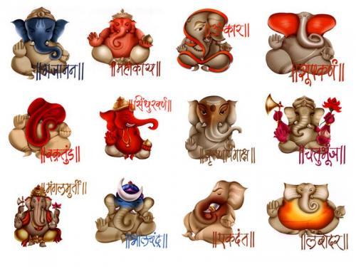 Names of Ganesha