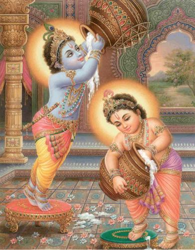Krishna - Balram