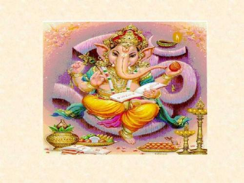 Lord Ganesha Card