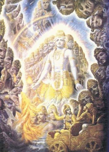Virat Roop of Lord Krishna