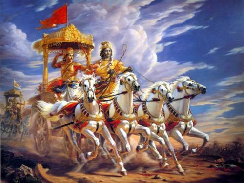 Krishna in Mahabharat