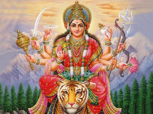 Maa durga showers Blessings