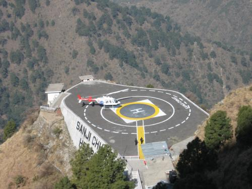 Helipad in Vaishno Devi Temple