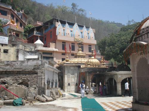 Jwalamukhi Main Temple entrance