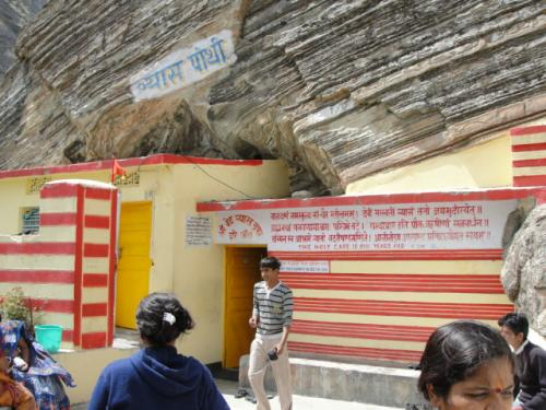 Ved Vyas Cave - Manha Village- Badrinath