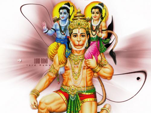 Balaji with Ram and Lakshman