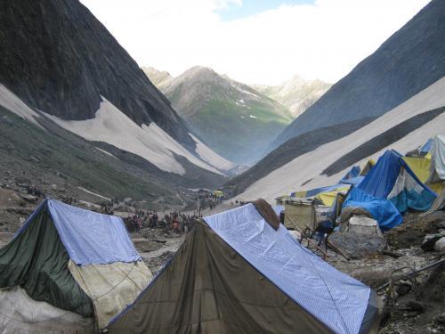Camp Near Holy Cave