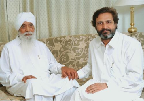 Param Sant Baljit Singh Ji Maharaj With Thakar Singh Ji