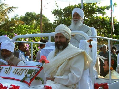 Param Sant Baljit Singh Ji Maharaj with Thakar Singh Ji  Maharaj