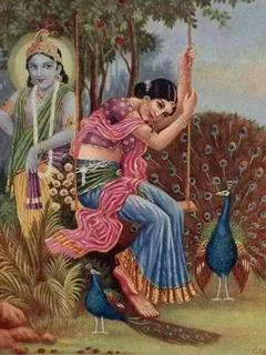 Shree Krishna & Radha Wallpapers...