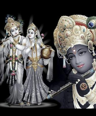 Lord Radha Lord Krishna Wallpaper...