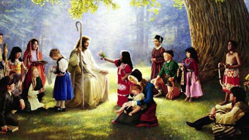Jesus Children Wallpaper...