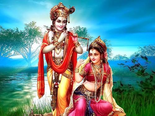 Lord Radha & Lord Krishna...