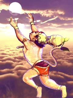 Bal Hanuman wallpaper.........