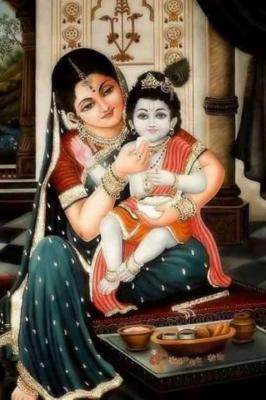 Yashoda Krishna Wallpaper.........