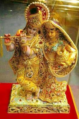 Lord Radha and Lord Krishna Wallpaper.....