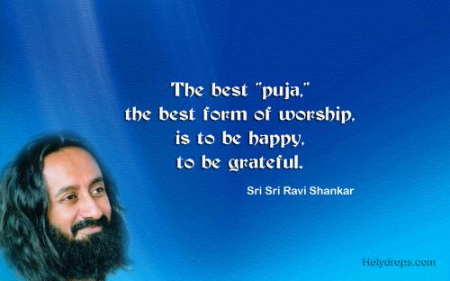 Sri Ravishankar Ji On Spirtuality