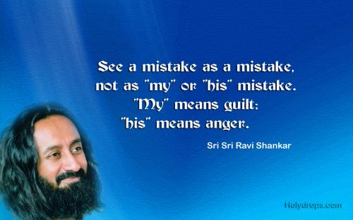 Life Quotes by Sri Sri Ravi Shankar Ji