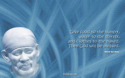 Sai Baba Quote on God