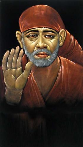 Shirdi Sai Baba Mobile Wallpaper