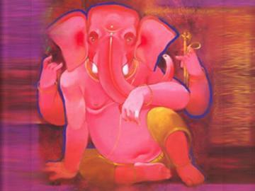 Ganesh Ji  Mobile Wallpaper for Blackberry