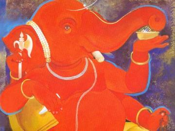 Beautiful Ganesh Mobile Wallpaper for Blackberry