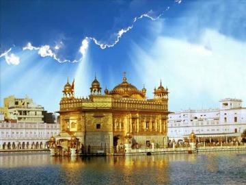 Golden Temple Mobile Wallpaper