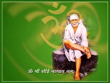 Sai Baba Mantra Mobile Wallpaper