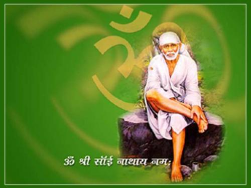 Photo Gallery » Beautiful Shirdi Sai Baba Mobile Wallpaper