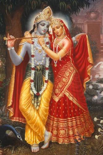 Radha Krishna Iphone 4 Wallpaper