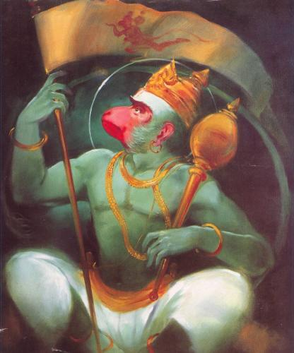 Hanuman Wallpaper for Samsung Galaxy