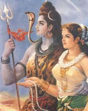 Shiv Ji with Mata Parvati Mobile Wallpaper