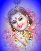 Beautiful roop of Krishna Ji Mobile Wallpaper