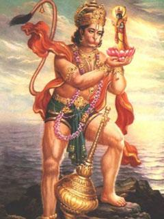 240x320 Mobile Wallpapersmobile Wallpaper Of Lord Hanuman