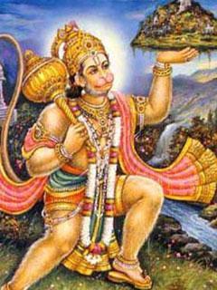 Photo Gallery » Hanuman Mobile Wallpaper