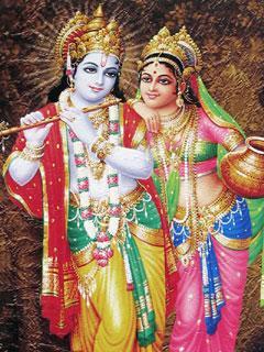 Radha Krishna Mobile Wallpaper