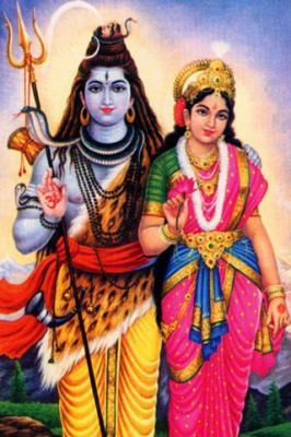 Photo Gallery » Shiv Ji with Mata Parvati Mobile Wallpaper