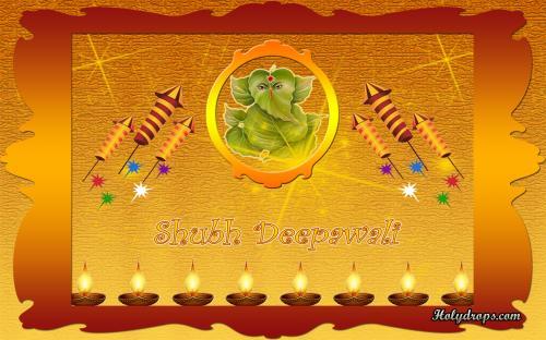 HD wallpaper for Deepawali Festival