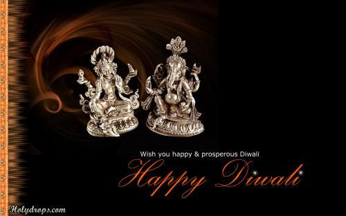Laxmi Ganesh beautiful diwali HD wallpaper