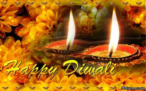 Diwali HD wallpaper of Diyas