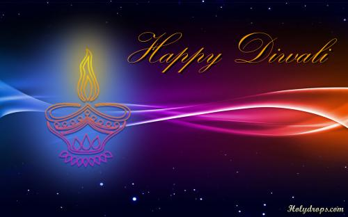 HD wallpaper for Diwali Greetings