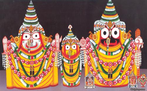 Lord Shri Jagannath Ji in Padma Swaroop