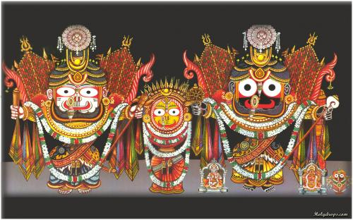 Lord Shri Jagannath Ji in Nagarjun Swaroop