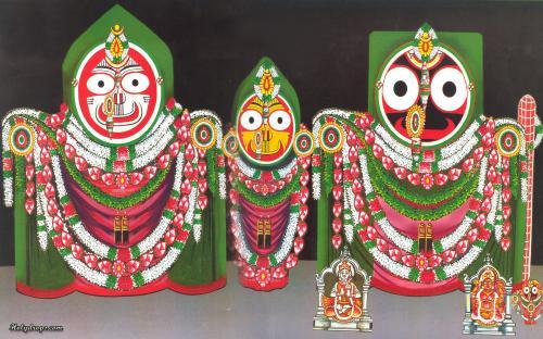 Lord Shri Jagannath Ji in Swarn Swaroop